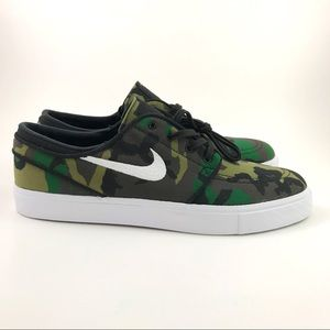 Nike Zoom Stefan Janoski Canvas Skate Shoes 10.5